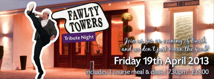 Fawlty Towers theme night